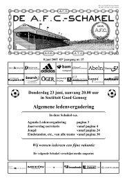 8 juni 2005, 83e jaargang nummer 15 - AFC, Amsterdam