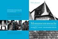 voor monumenten - Monumentenwacht Nederland