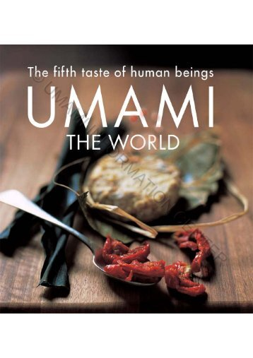 The Fifth Taste Of Human Beings - Umami Information Center
