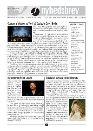 Operaer af Wagner og Verdi på Deutsche Oper i Berlin Koncert med ...
