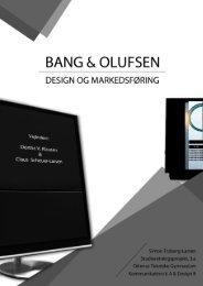 Bang & Olufsen markeds- og designanalyse [Feb. 2011]