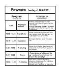 Powwow fredag d. 19/8 2011 Program - Page 2