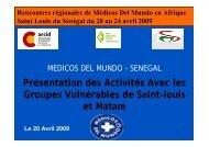 Saint Louis - Médicos del Mundo desde Senegal