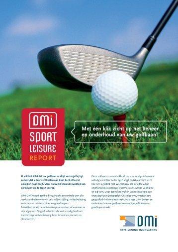 U wilt het liefst dat uw golfbaan er altijd verzorgd bij ligt, zonder dat u ...