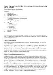 2006 - Hjemmeside for medlemmerne af Grundejerforeningen ...