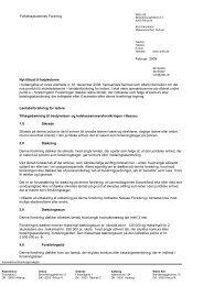 Folkehøjskolernes Forening Februar 2009 Nyt tilbud til ... - FFD.dk
