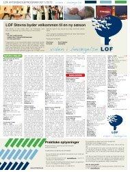 LOF Stevns byder velkommen til en ny sæson - LOF Midtjylland