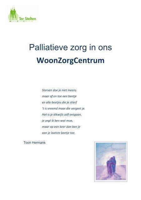 Folder Palliatieve Zorg Ocmw Merchtem
