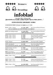 infoblad december - februari 2000 - 2001