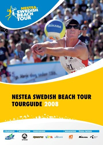 NESTEA SWEDISH BEACH TOUR TOURGUIDE 2008