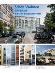 Schön Wohnen Zum Beispiel in Berlin-Friedrichswerder