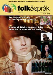 Folk&Språk 4-06 - Folk och språk