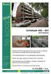 Schiekade 400 - 404 - Makelaardij de Jong