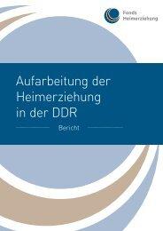 Bericht - Fonds Heimerziehung