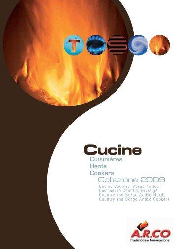 Cucine Country, Borgo Antico Cuisinières Country, Prestige Country ...