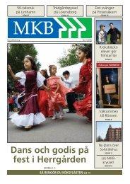 Dans och godis på fest i Herrgården - MKB Fastighets AB
