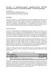 Haemophilus influenzae och BLNAR - Raf