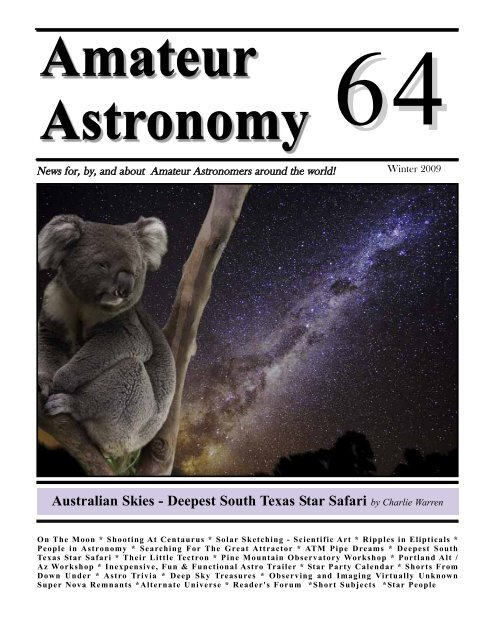 Deepest South Texas Star Safari by Charlie Warren - 3RF Australia