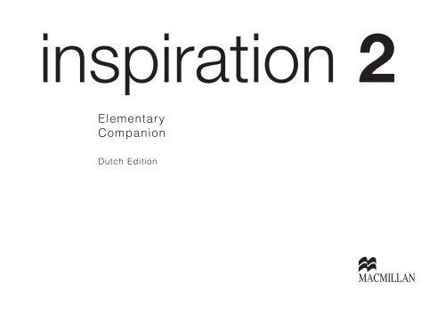 Elementary Companion Inspiration