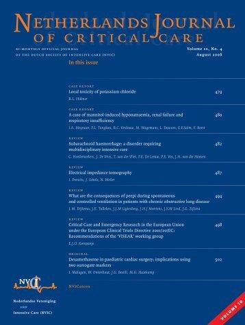 NJCC Volume 10, Augustus 2006