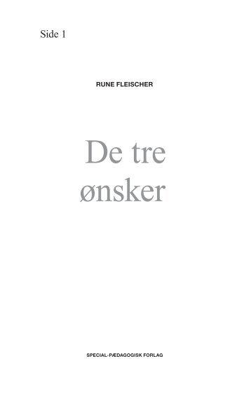 Oplæsningsfil til De tre ønsker - spf – nyheder . dk