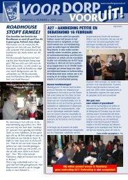 Nummer 2, April 2009 - Voordorp Vooruit