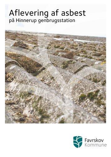 Aflevering af asbest - Favrskov Kommune