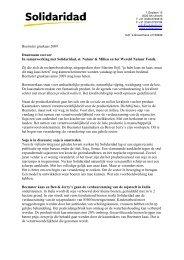 Solidaridad over overstap op duurzame soja - Beemster kaas