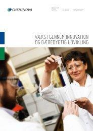 Vækst gennem innoVation og bæredygtig udVikling - Cheminova.com