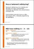 Balansert målstyring, hva er det? Hvor mange bruker BM aktivt? - Page 6