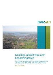 Koldings attraktivitet som bosætningssted - Damvad