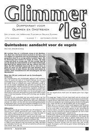 Glimmer'lei - September 2009 - Glimmen