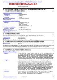 SIKKERHEDSDATABLAD - Essential Industries