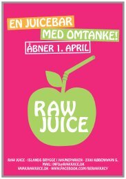 Tryk her for at downloade Menukortet - RAWjuice