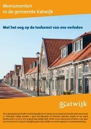 Folder Monumenten in de gemeente - Gemeente Katwijk