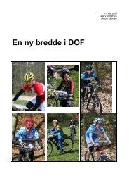En ny bredde i DOF - Dansk Orienterings-Forbund