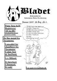 Januar 2007. 28.Årg. Nr.1. Pæne Taxa 4x35 ... - katbladet.dk