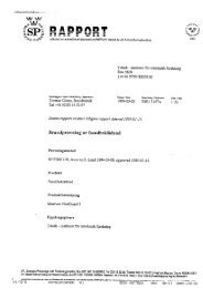 Rapport BT Brandskyddat Trä, SP - Goda Rum