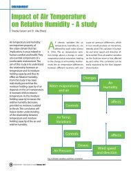 Impact of Air Temperature on Relative Humidity - A study - Council of ...
