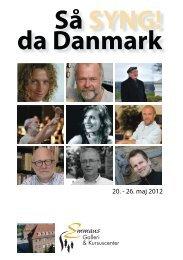 Så syng da DK.indd - Galleri Emmaus