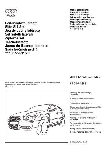 10 free Magazines from AUDI.BERNARDIPARTS.COM