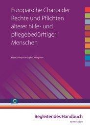 Begleitendes Handbuch - AGE Platform Europe
