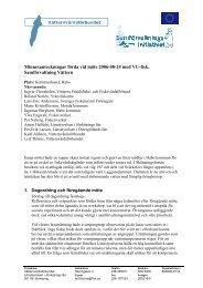 Minnesanteckningar förda vid möte 2006-08-24 ... - Länsstyrelserna