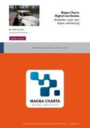 Modellen voor een eigen verklaring - Magna Charta Digital Law ...