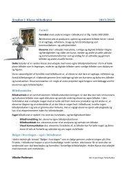 Årsplan 2. Klasse billedkunst 2013/2013 Vibeke ... - Uhre Friskole
