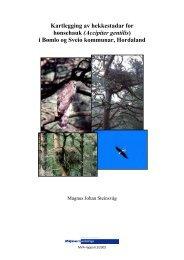Hønsehauk i Sunnhordland - Livskraftige kommuner