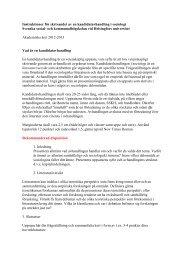 Kandidatavhandling - och kommunalhögskolan