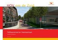 Definitief inrichtingsplan Vaartsestraat en ... - Gemeente Utrecht
