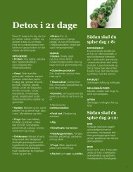 Detox i 21 dage - Altid slank