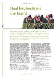 Haal het beste uit uw team! - Profile Dynamics